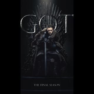 Game of Thrones - Season 8 - Vudu