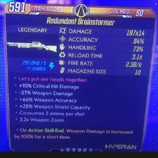 Weapon   x14 Brainstormer ASE 100