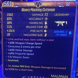 Weapon   Cutsman ASE 100