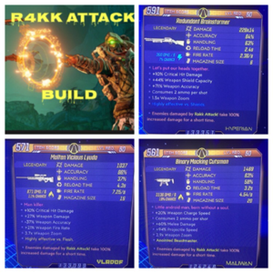 Other | OP R4kk Attack Build / Derived from JoltzDudes Build