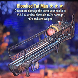 Weapon | Bloodied Fat Man
