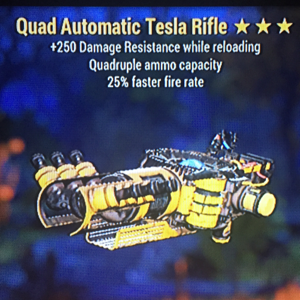 Weapon | Quad FFR Tesla Rifle(PVP Killer)