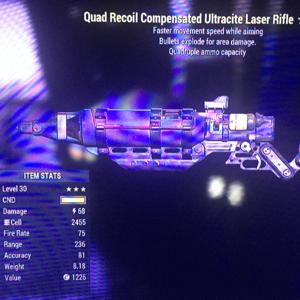 Weapon | Lv30 QE Laser Rare