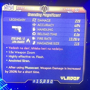 Weapon | Unending Magnificent/ Phasecast
