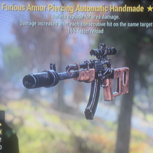 Weapon | Furious Explosive Handmade