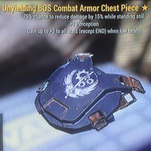 Apparel | Unyielding Sentinel BOS Full Matching Armor Set