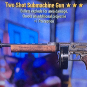 Weapon | TSE Submachine Gun
