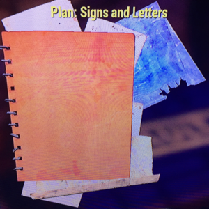 Plan | Signs and Letters Plan ( includes neon)