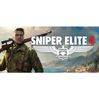 Sniper Elite 4 [Global Steam Key and Instant delivery]