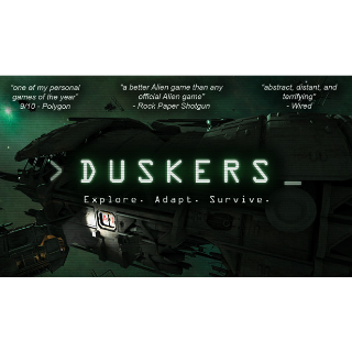 Duskers [Global Steam Key and Instant delivery]