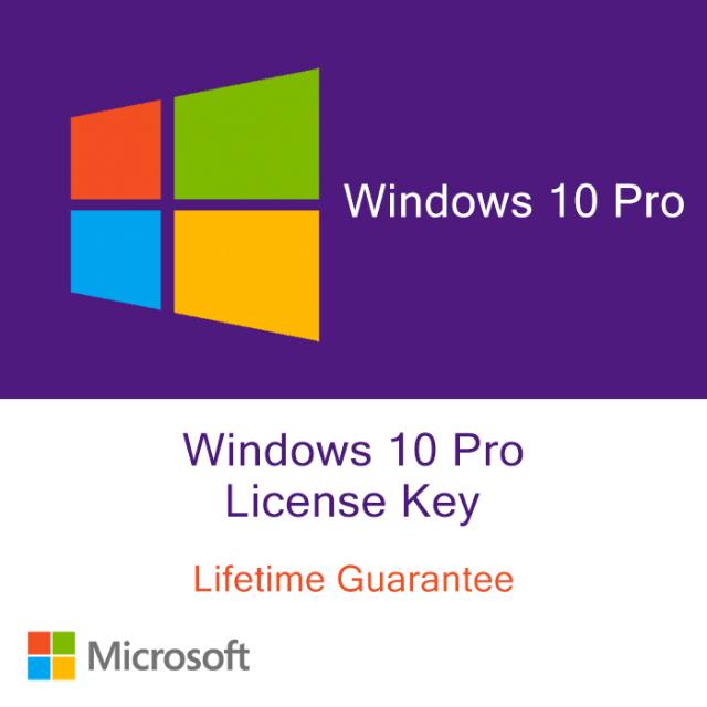 windows 10 pro 64 bit activation key