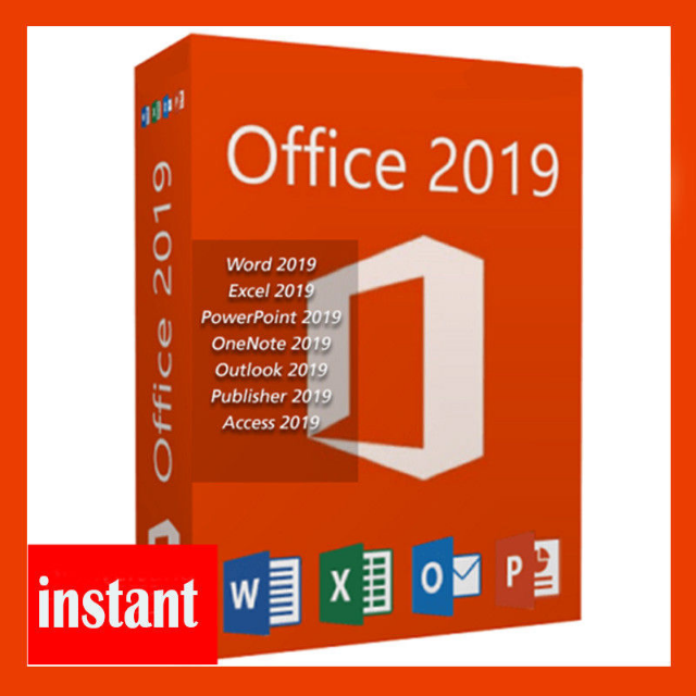 Microsoft Office 2019 Professional plus Product Key License Lifetime