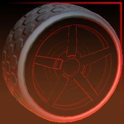 Crimson Inverted (Gripstride HX)