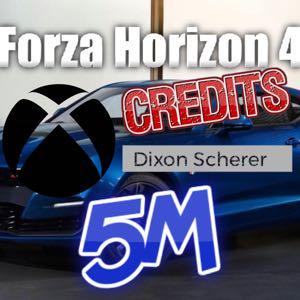 Forza Horizon4 CREDITS