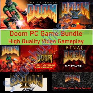 Doom PC Game Bundle (Download/Windows/PC) 1 ,2 ,Ultimate,Final,Plutonia,Master