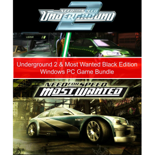 Need for Speed Bundle✅Download/Windows PC Game✅Underground 2, Most Wanted/ NFSU2