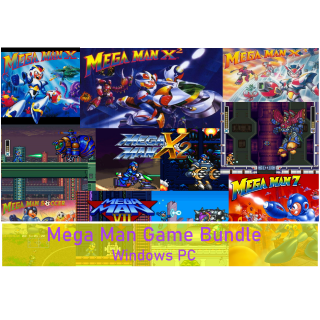 Mega Man X, X2, X3, 7, Soccer ✅Bundle✅Download/PC✅Windows/SNES