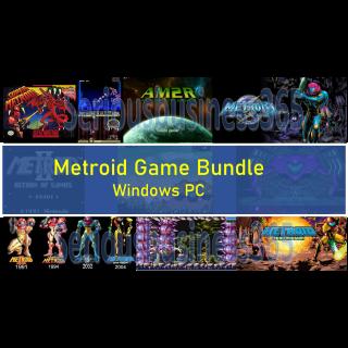 Super Metroid Bundle ✅Download PC GAME✅Windows, Zero Mission Fusion AM2R 2 Snes