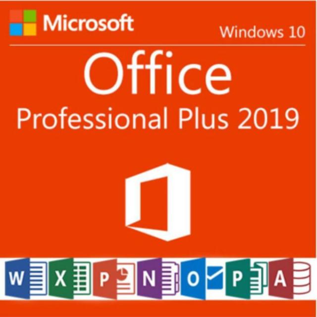 Microsoft Office 2019 Professional Plus Key 32/64 Bit