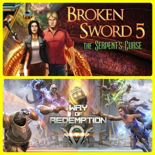 BROKEN SWORD 5 AND WAY OF REDEMPTION