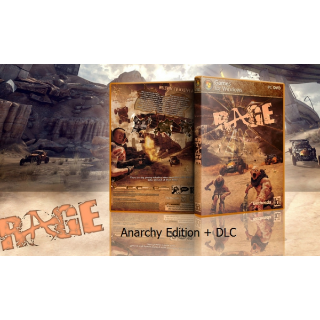 RAGE ANARCHY EDITION KEY