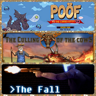 The Culling Of The Cows and the fall + poof