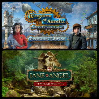 Kingdom of Aurelia: Mystery of the Poisoned Dagger and Jane Angel: Templar Mystery