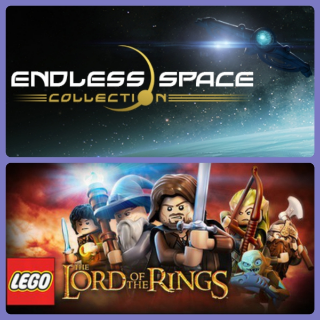 Endless space collection and Lego lord of the rings