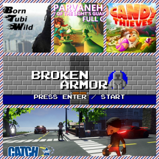 parveneh +Candy Thieves Tale of Gnomes +Broken Armor+Born Tubi Wild + Catch the Thief, If you can!