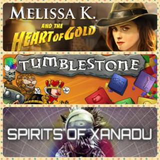 Melissa K. And The Heart Of Gold Collectors Editon: and Tumblestone: +Spirits of Xanadu
