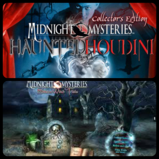 Midnight  Mysteries 4: Haunted Houdini and Midnight Mysteries: Salem Witch Trials