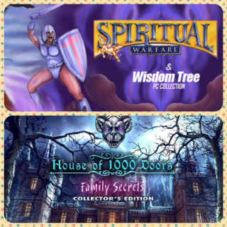 Spiritual Warfare & Wisdom Tree Collection and House of 1000 Doors: Family Secrets Collector's Edition