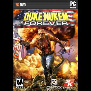 DUKE NUKEM FOREVER  KEY