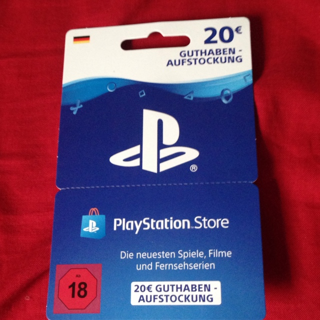 playstation karte Ps4 Karte 20 €   PlayStation Store Gift Cards   Gameflip
