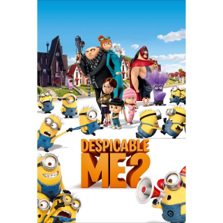INSTANT Despicable Me 2 | HDX | UV VUDU
