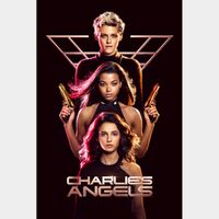 INSTANT DELIVERY Charlie's Angels 2019 Digital Code | HDX | VUDU or HD iTunes via MA