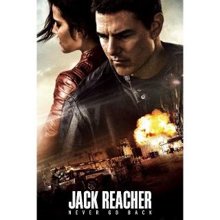Jack Reacher: Never Go Back | 4K/UHD | iTunes