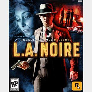 L.A. Noire Steam Key/Code Global