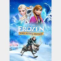 Frozen Sing Along Edition   HDX   MA