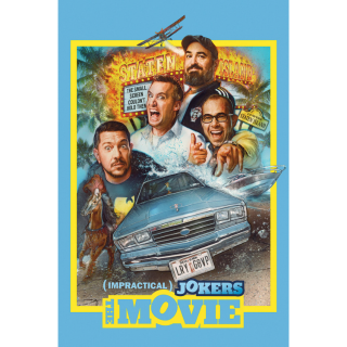 Impractical Jokers: The Movie Digital Code| SD | VUDU or SD iTunes