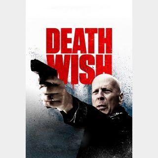 Death Wish | HDX | UV VUDU