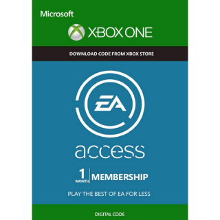 EA Access 1 Month Subscription Key/Code Global
