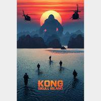 INSTANT DELIVERY Kong: Skull Island | HDX | UV VUDU