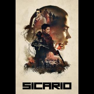 Sicario | HDX/HD | UV VUDU