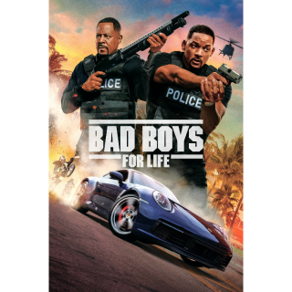 Bad Boys for Life Digital Code | HDX | VUDU or HD iTunes via MA