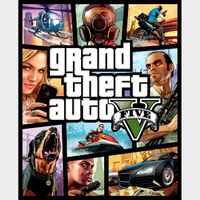 INSTANT DELIVERY GRAND THEFT AUTO V (5) Rockstar Games Key/Code Global
