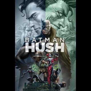 Batman: Hush | HDX | VUDU or HD iTunes via MA
