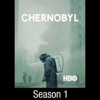 [INSTANT] Chernobyl Complete Miniseries Season 1| HDX | VUDU