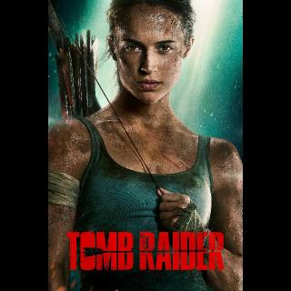 WATCH NOW Tomb Raider | HDX | VUDU