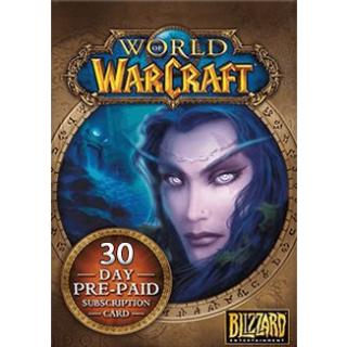 World of Warcraft 30 Days Pre-paid Game Card PC Key/Code US
